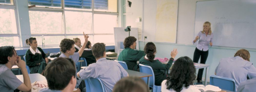 Kelvin Grove SH classroom
