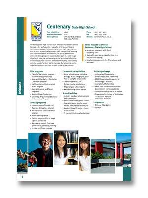 Centenary SHS PDF