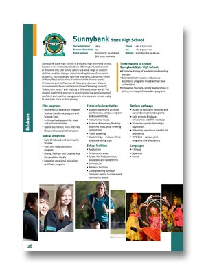 Sunnybank SHS PDF