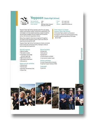 Yeppoon SHS PDF
