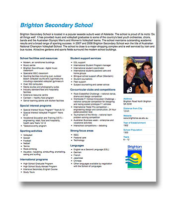Brighton Secondary School PDF