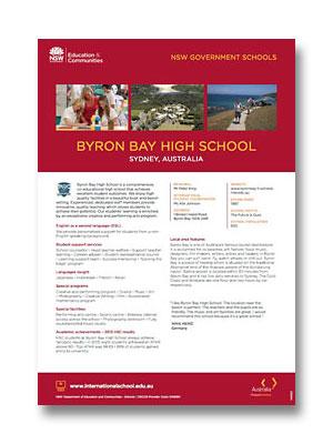 Byron Bay HS PDF