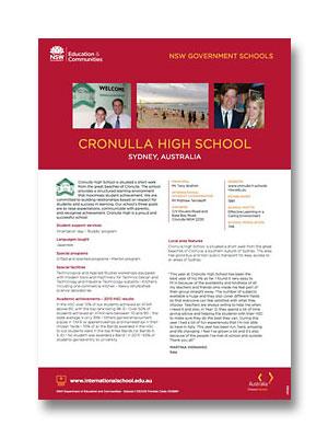 Cronulla HS PDF