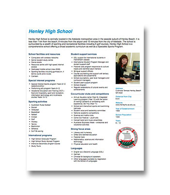 Henley High School PDF