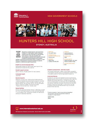 Hunters Hill HS PDF