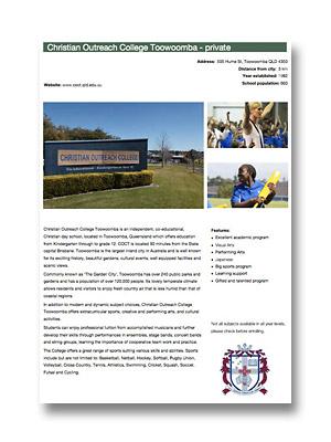 Christian Outreach College PDF