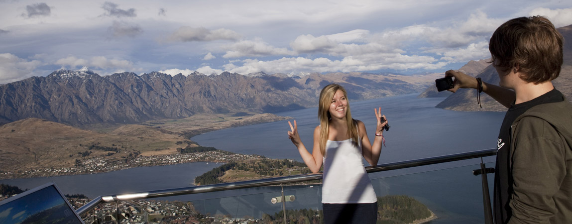 Study abroad in New Zealand: A Smile over Queenstown