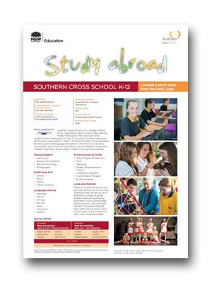 Southern Cross HS PDF