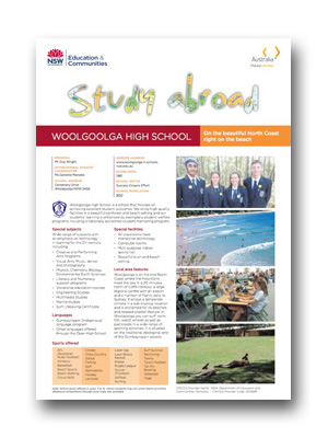 Woolgoolga HS PDF