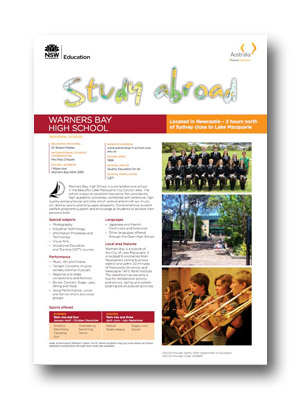 Warners Bay HS PDF