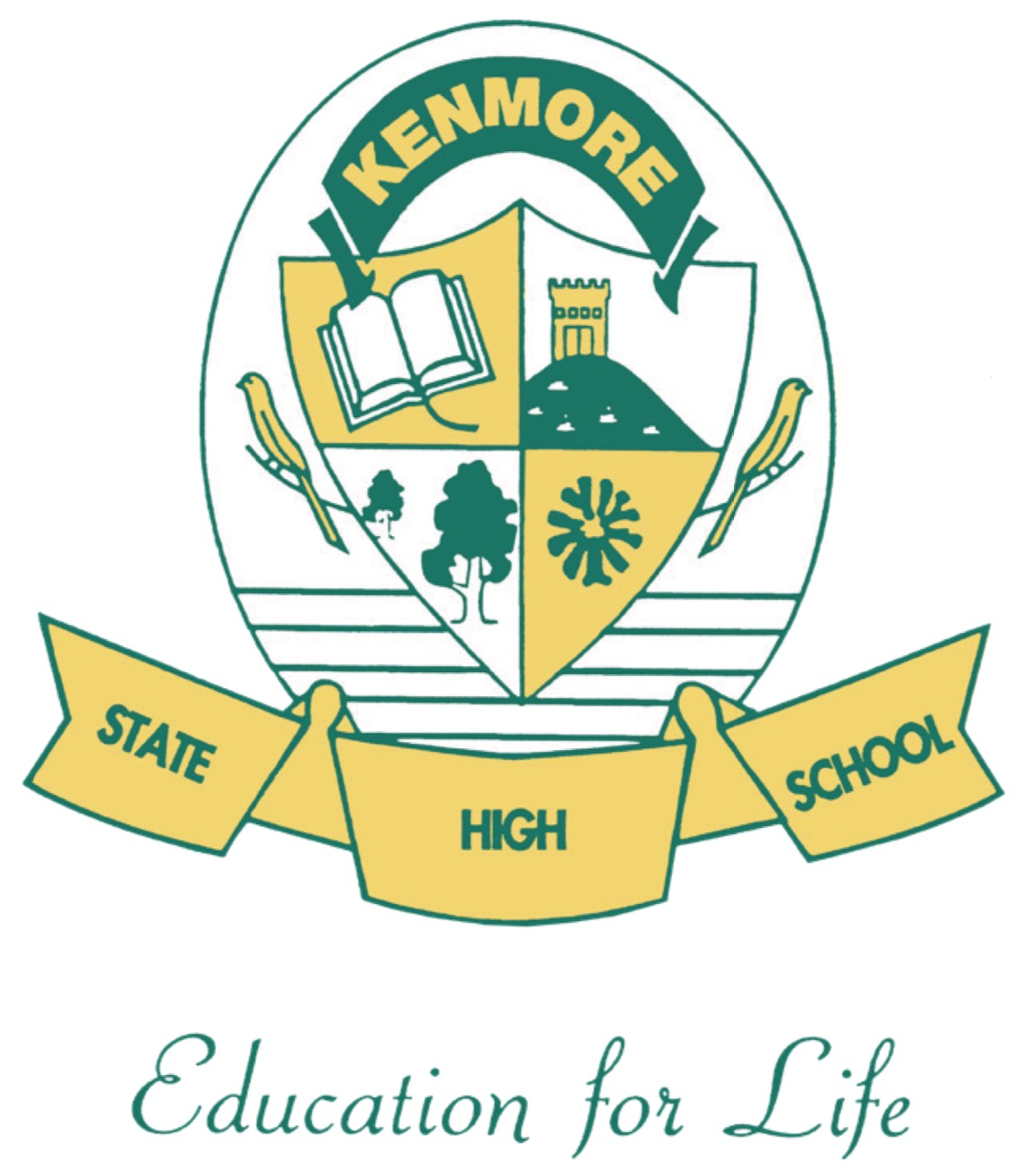 Kenmore State High School Logo