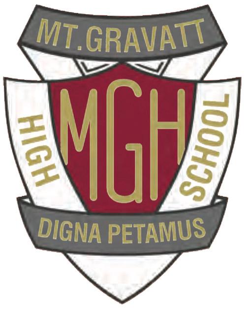 Mount Gravatt High School Logo