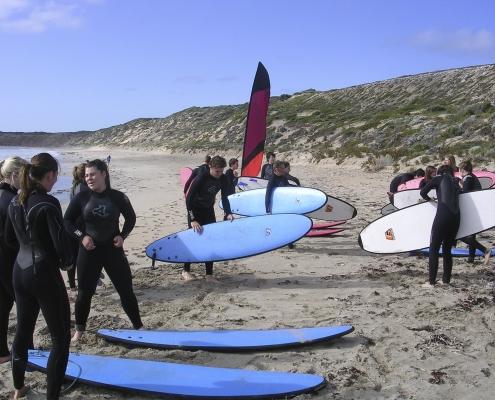 Immanuel College: Surfing Camp