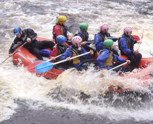 Immanuel College: White Water Rafting Camp