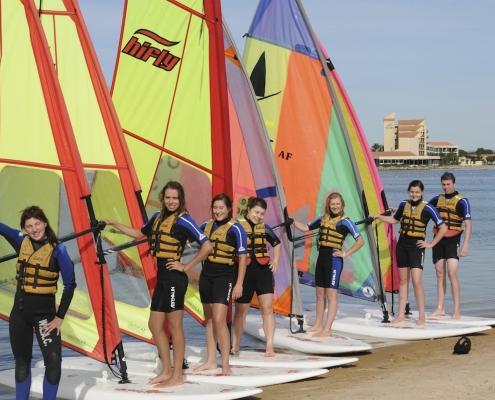 Immanuel College: Windsurfing