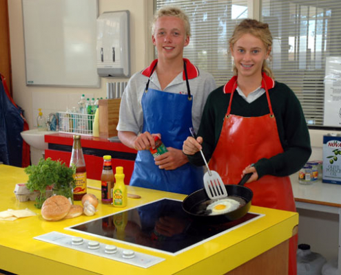 Henley High School: Cooking