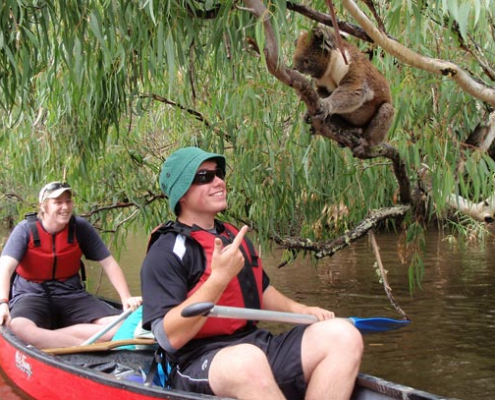Victor Harbor High School: Canoeing Trip