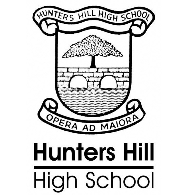 Hunters Hill High School Logo