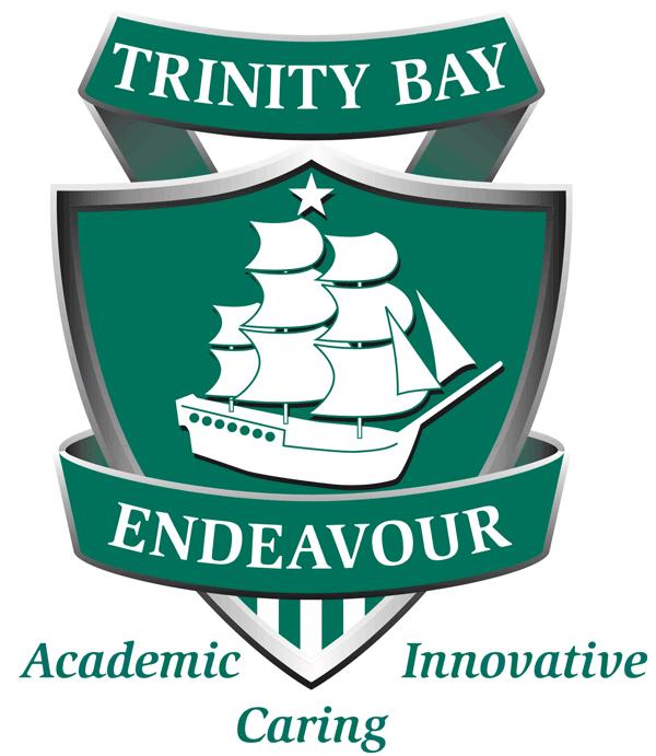 Trinity Bay State High School Logo