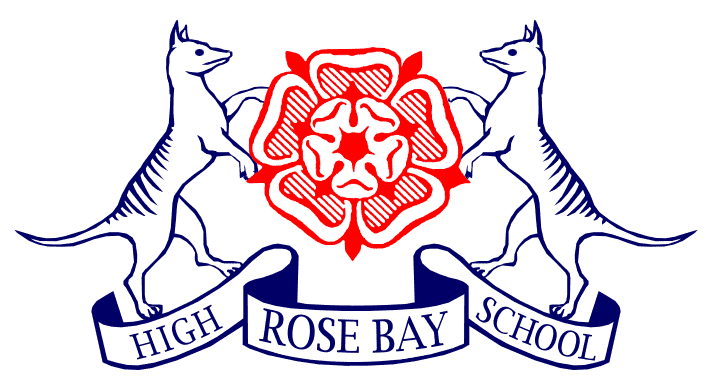Rose Bay High School Logo